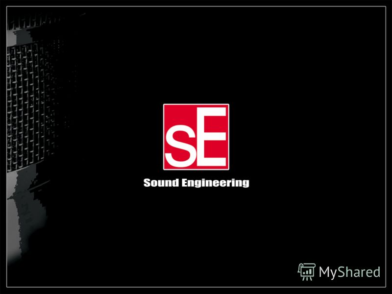 Sound Engineering