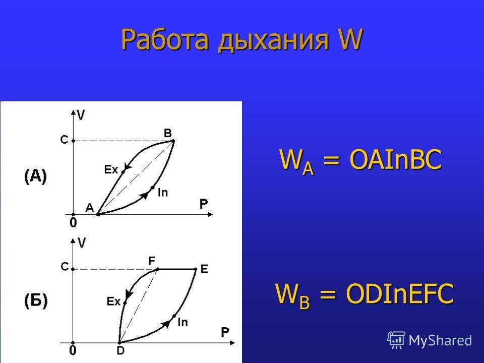 W A = OAInBC W B = ODInEFC