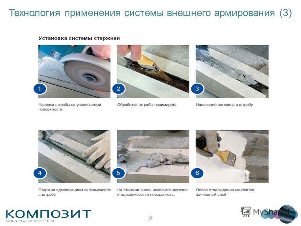 8 Технология применения системы внешнего армирования (3)