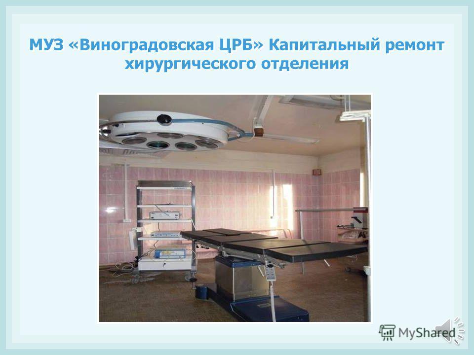 В 2011 году капитальные ремонты проведены в 19 учреждениях здравоохранения на общую сумму 760 млн рублей. В Няндомской ЦРБ открыто реанимационное отделение на 6 коек