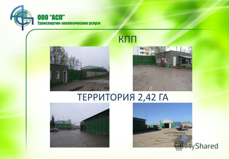 КПП ТЕРРИТОРИЯ 2,42 ГА