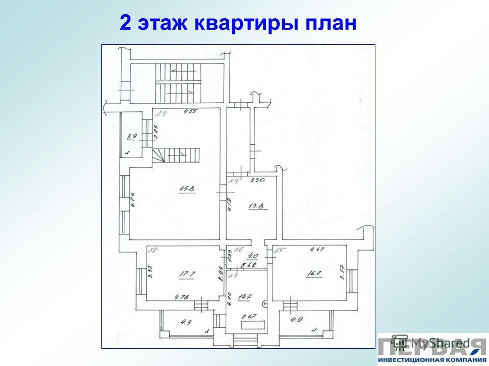 2 этаж квартиры план