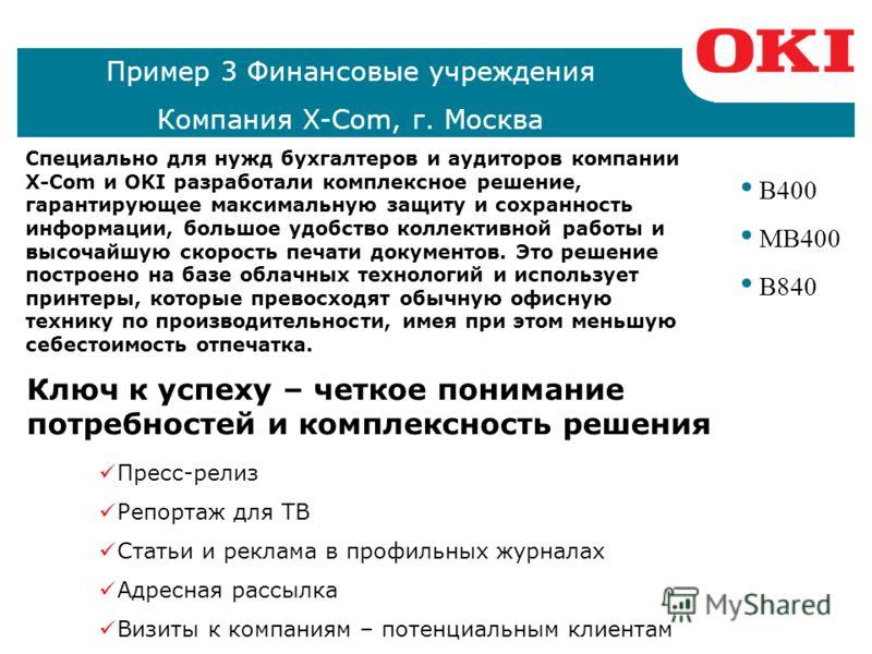 Пример 2 Гостиницы, рестораны Компания Актуал, г. Санкт-Петербург C300 C500 C600 C800 C9000 MC300 MC500