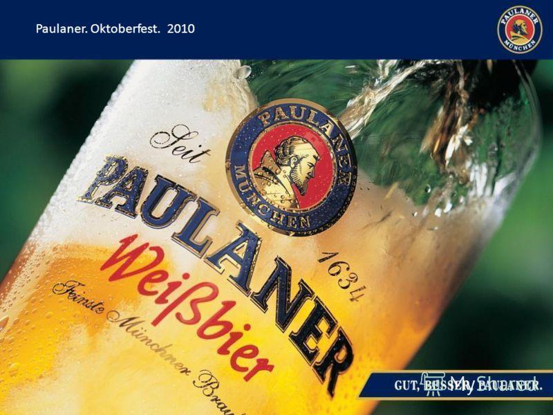 Paulaner. Oktoberfest. 2010