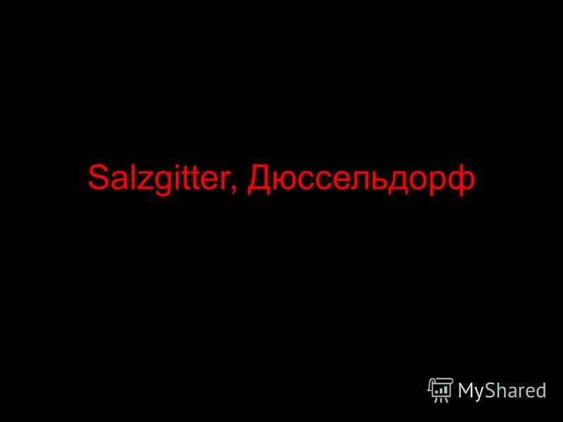 Salzgitter, Дюссельдорф