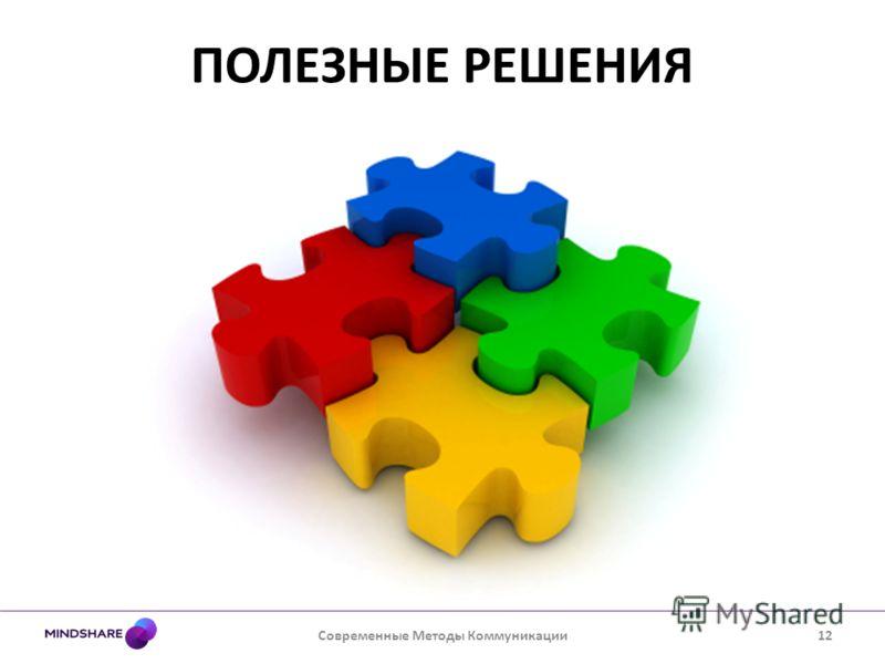 ПОЛЕЗНЫЕ РЕШЕНИЯ Современные Методы Коммуникации12