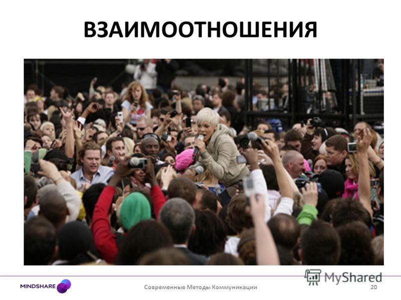 ВЗАИМООТНОШЕНИЯ Современные Методы Коммуникации20