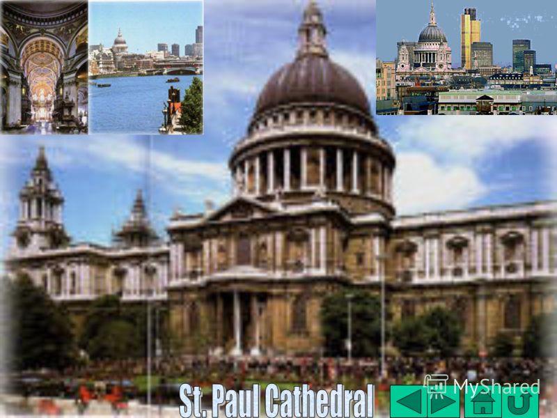 Кафедральный Собор святого Павла Кафедральный Собор святого Павла Сити – сердце Лондона, его финансовый центр. Здесь сосредоточено множество банков, офисов и фирм Также здесь находятся многие знаменитые древние постройки. Самая главная из них – это К