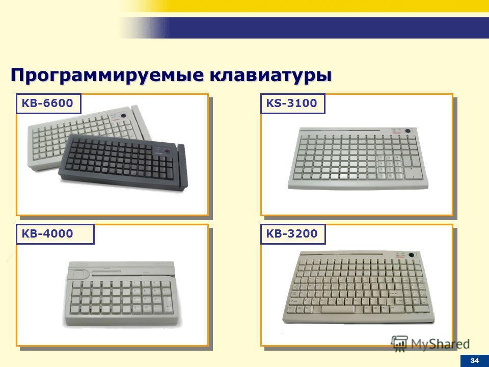 KB-6600 KB-4000KB-3200 KS-3100 Программируемые клавиатуры 34