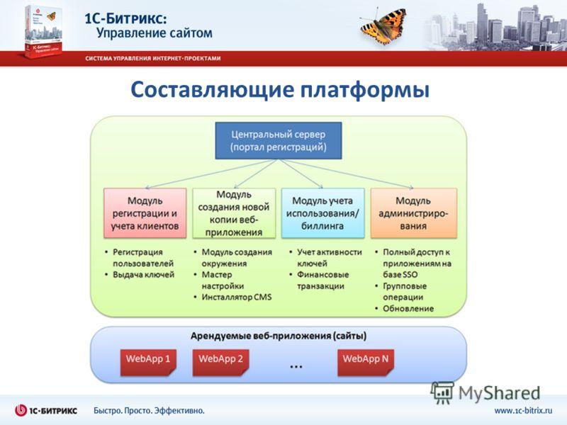 Составляющие платформы