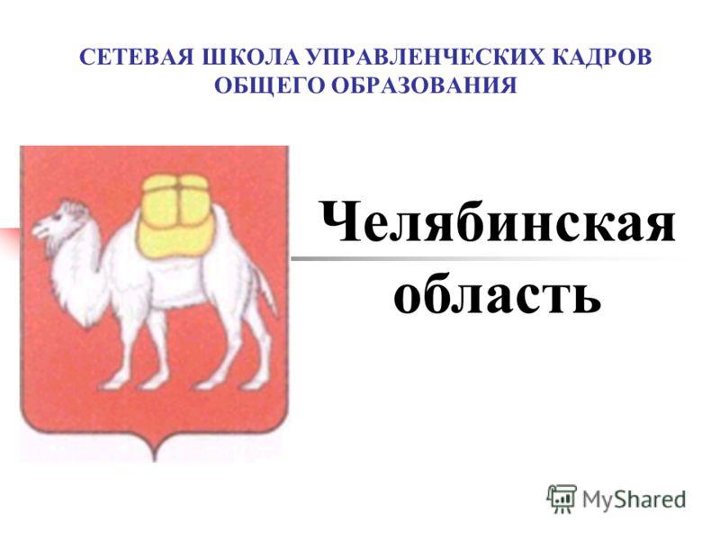 СЕТЕВАЯ ШКОЛА УПРАВЛЕНЧЕСКИХ КАДРОВ ОБЩЕГО ОБРАЗОВАНИЯ Челябинская область