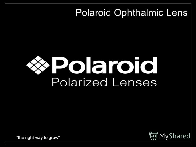 the right way to grow Polaroid Ophthalmic Lens