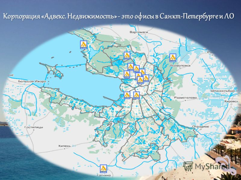 Корпорация «Адвекс. Недвижимость» - это офисы в Санкт-Петербурге и ЛО