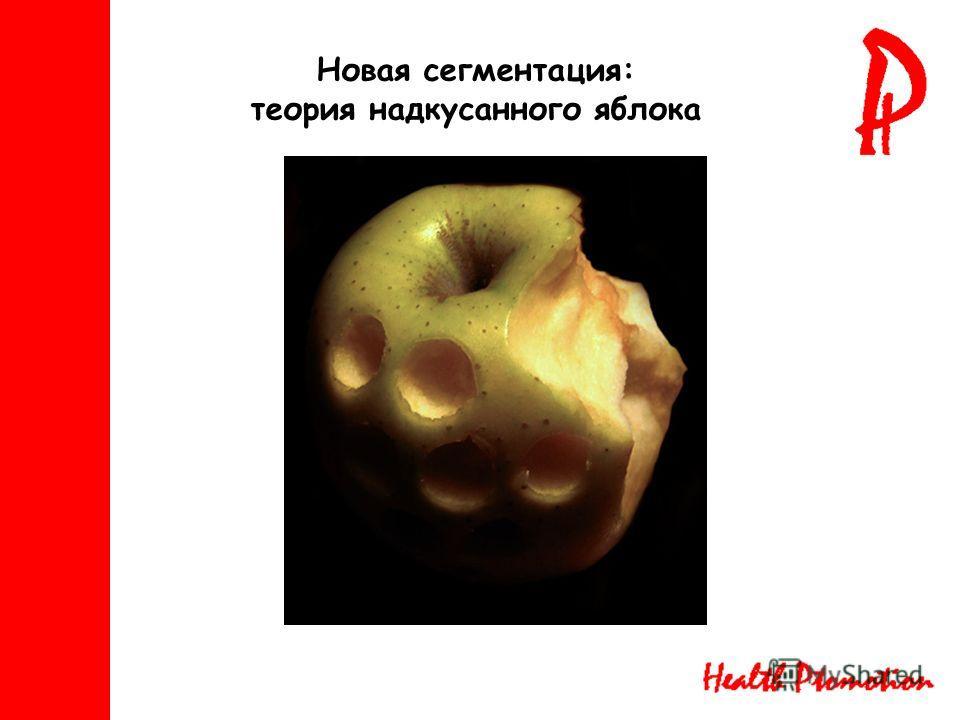 Новая сегментация: теория надкусанного яблока