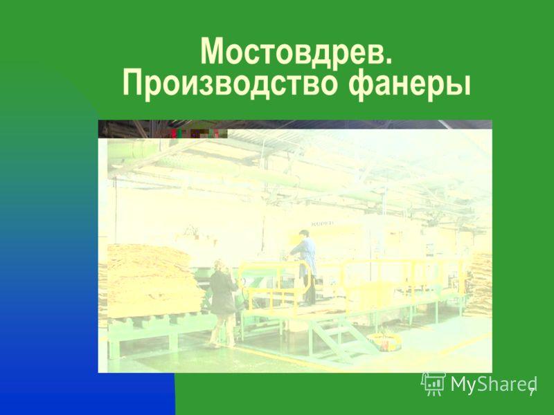 7 Мостовдрев. Производство фанеры