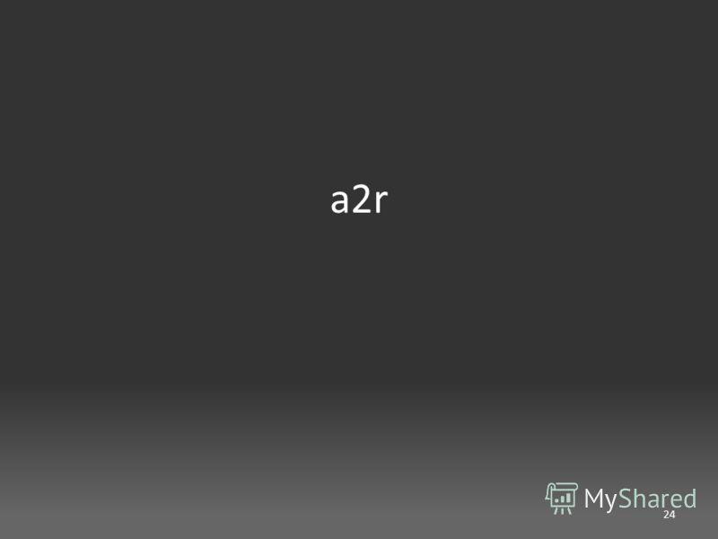 a2r 24