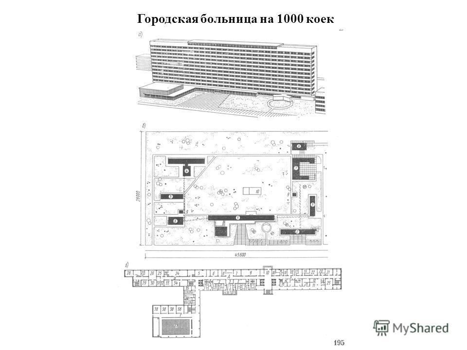 Городская больница на 1000 коек