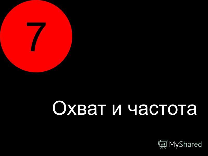 7 Охват и частота