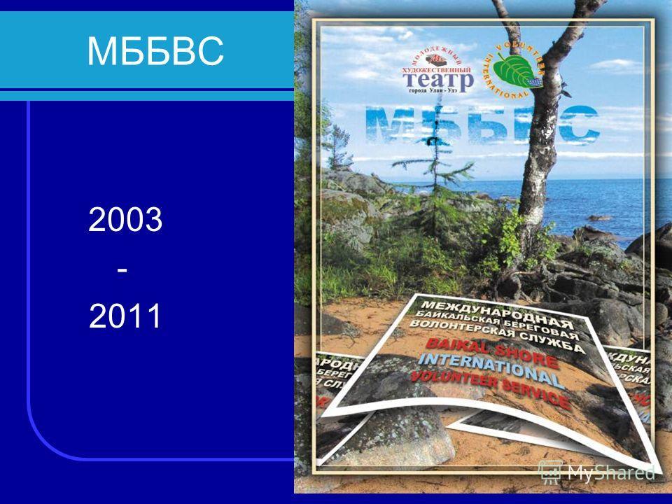 МББВС 2003 - 2011
