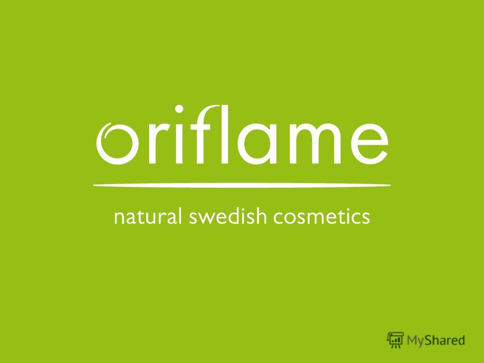 © Oriflame Cosmetics S.A. 2010