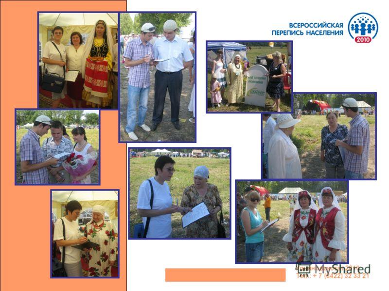 Ульяновскстат 2010 Тел.: + 7 (8422) 32 33 21