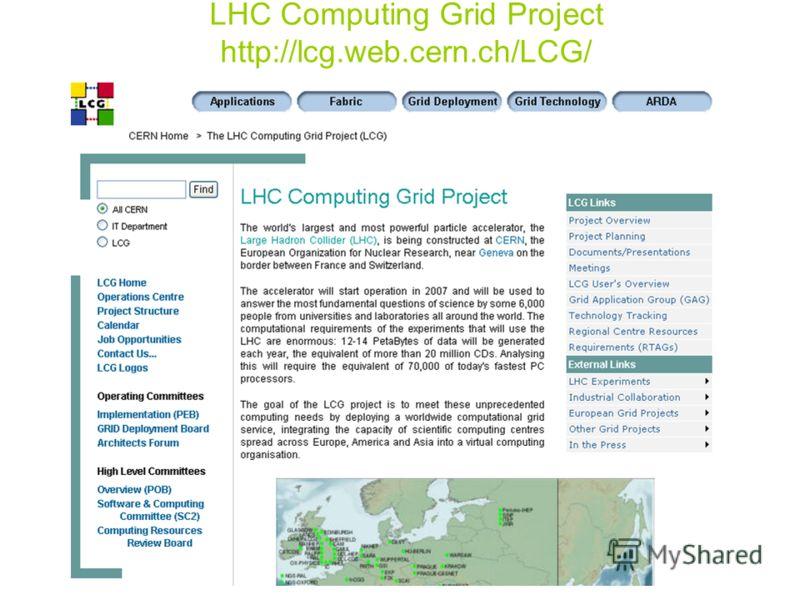 LHC Computing Grid Project http://lcg.web.cern.ch/LCG/