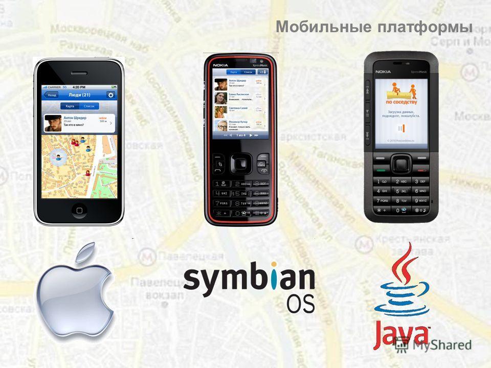 Мобильные платформы