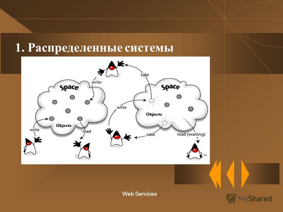 Web Services 1. Распределенные системы