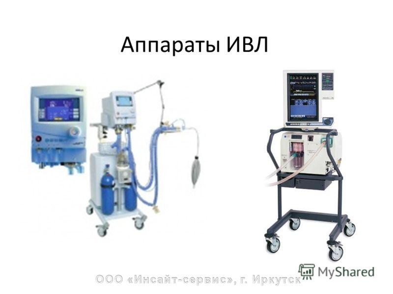 Аппараты ИВЛ