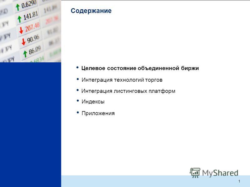 Интеграция фондовых рынков ММВБ и РТС: создание единой листинговой платформы Анна Кузнецова Вице-президент, ММВБ