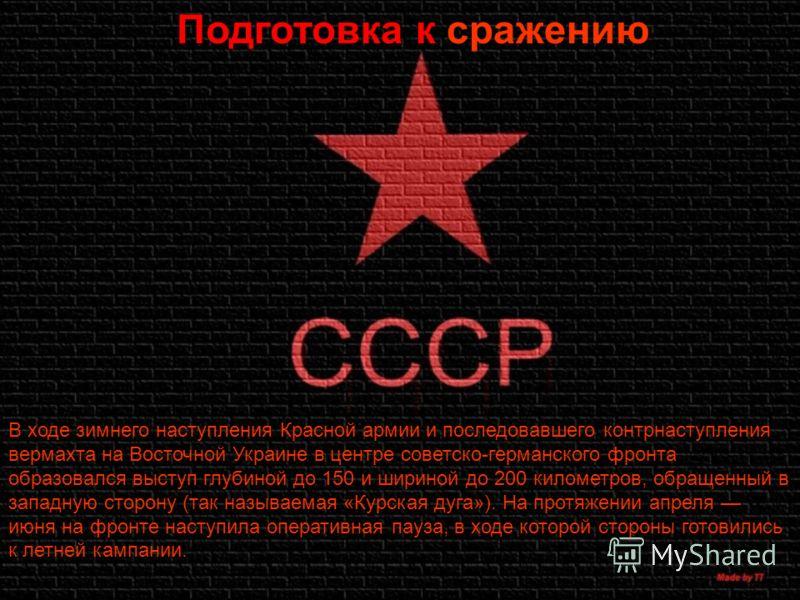 Подготовка к сражению В ходе зимнего наступления Красной армии и последовавшего контрнаступления вермахта на Восточной Украине в центре советско-герма