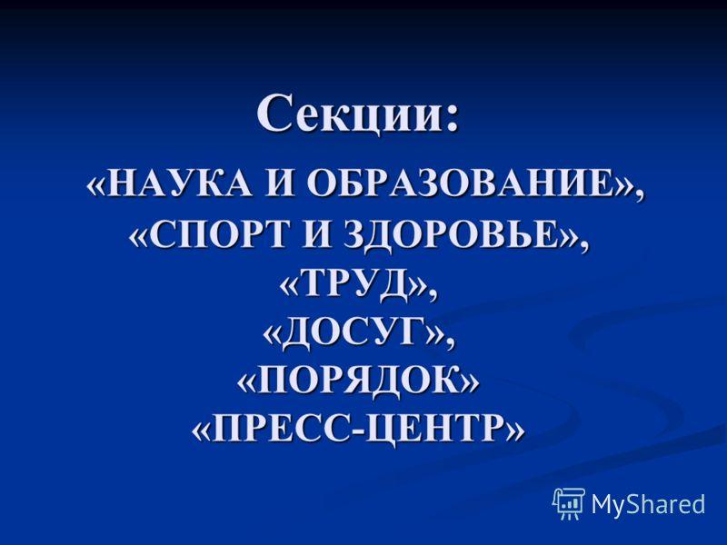 Ученическое самоуправление МОУ СОШ 3 с.п. Аргудан