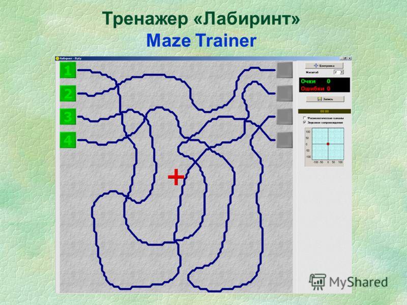 Тренажер «Лабиринт» Maze Trainer