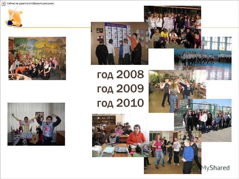 год 2008 год 2009 год 2010