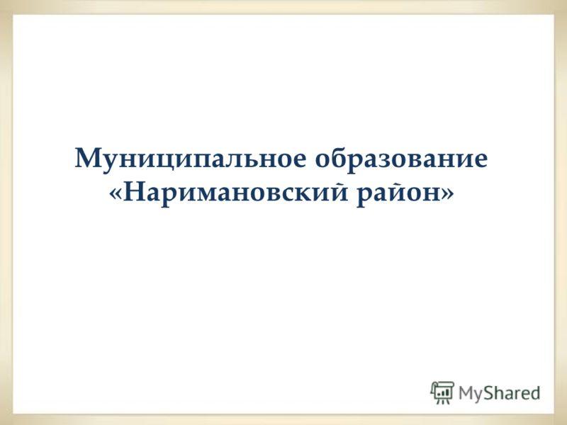 Муниципальное образование «Наримановский район»