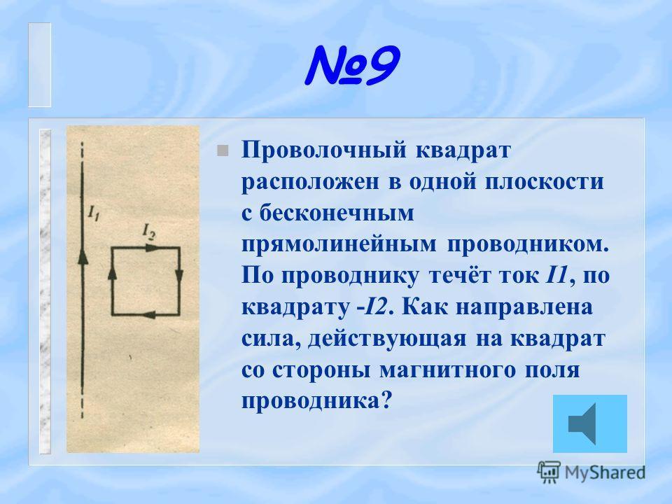 8 n Над соленоидом на пружине подвешен магнит. Что произойдёт с магнитом, если по соленоиду пропустить ток?