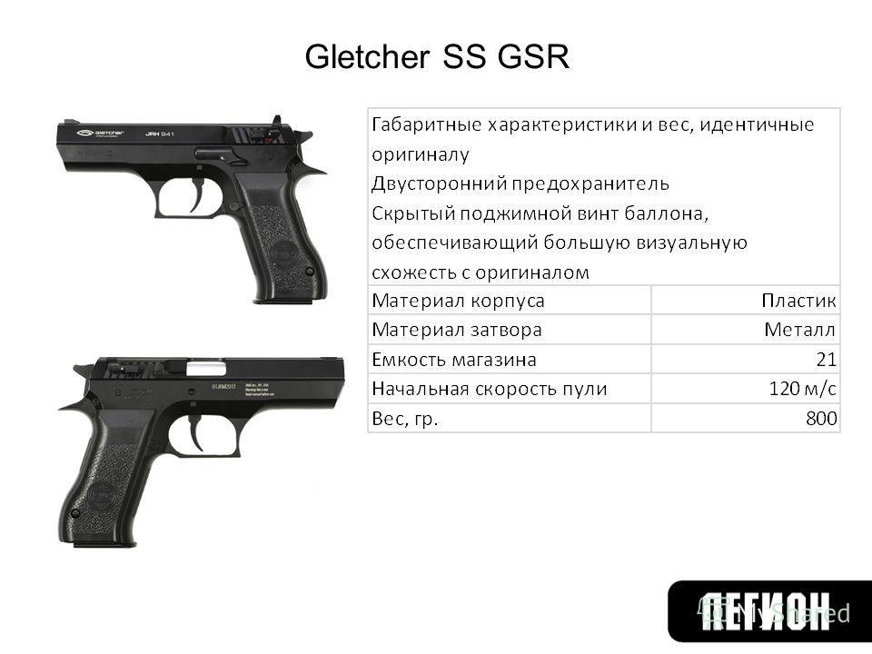 Gletcher SS GSR
