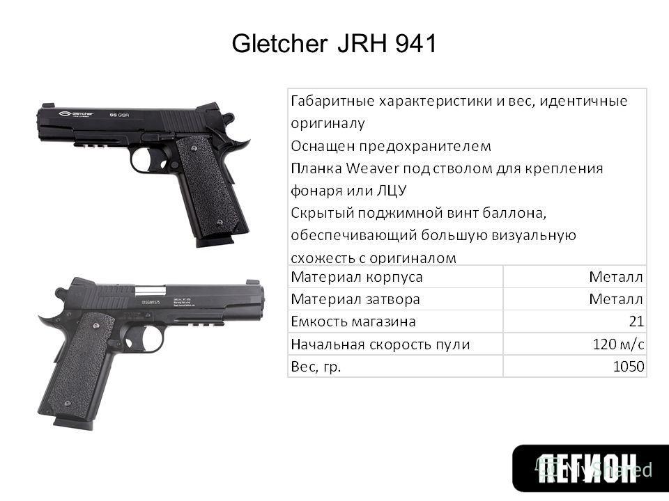 Gletcher JRH 941
