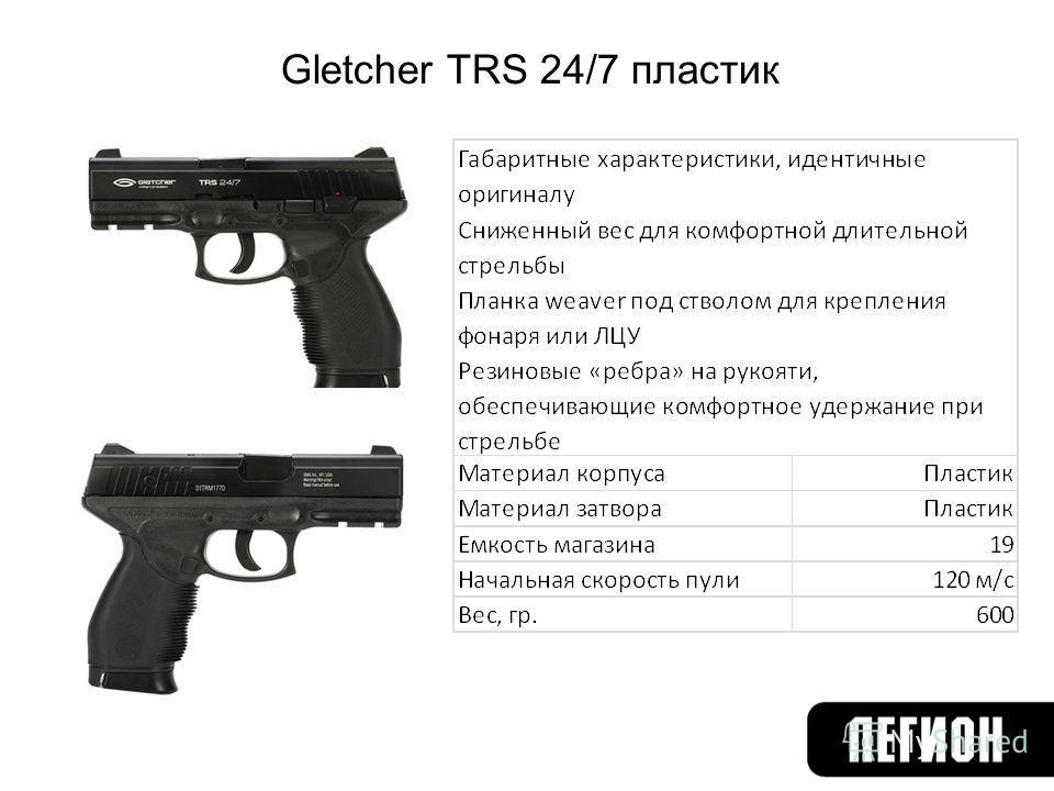 Gletcher TRS 24/7 пластик