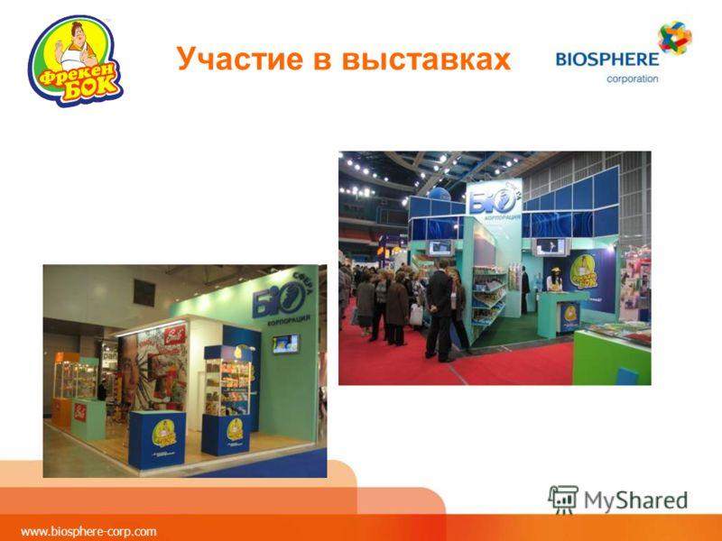 www.biosphere-corp.com Участие в выставках