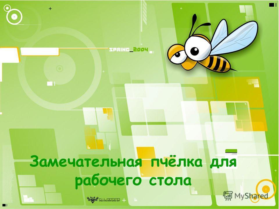 Замечательная пчёлка для рабочего стола