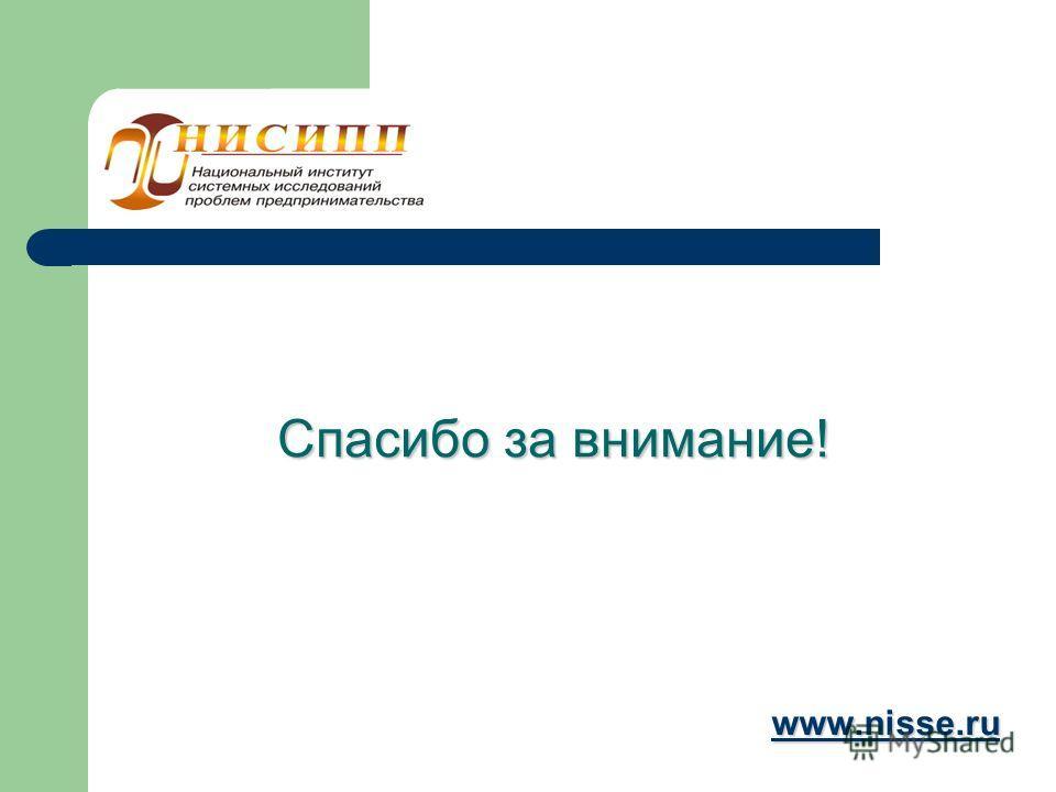 Спасибо за внимание! www.nisse.ru