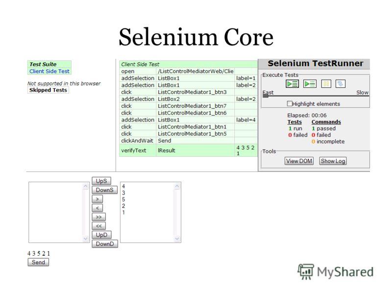 Selenium Core