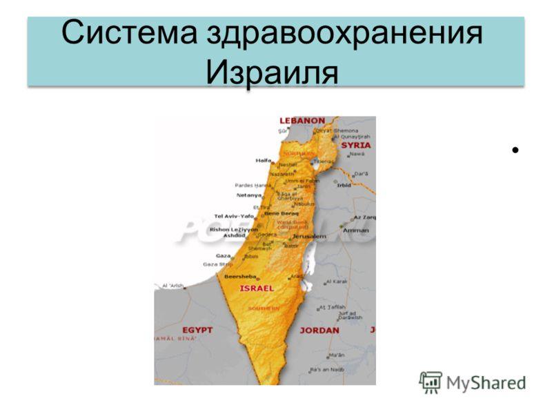 Система здравоохранения Израиля