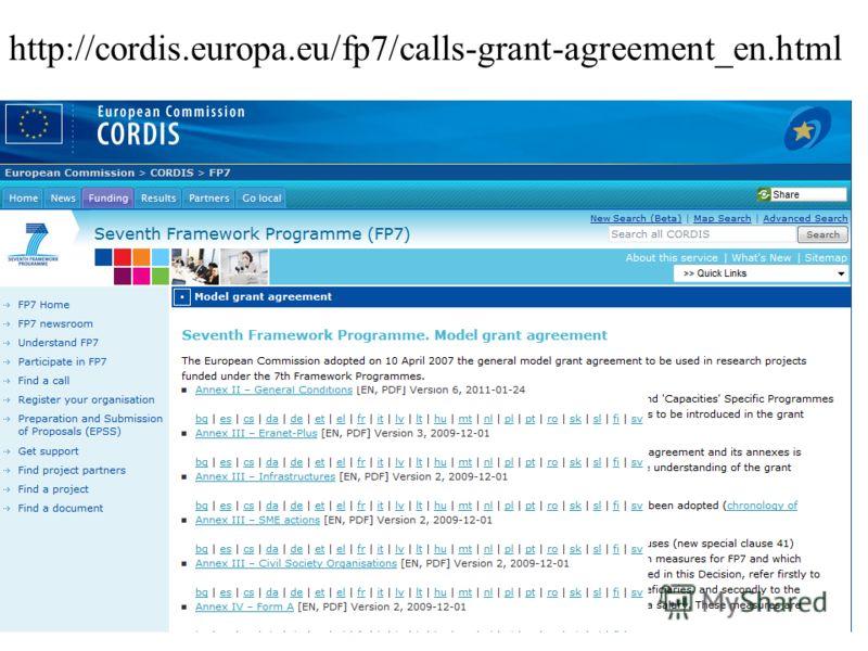 http://cordis.europa.eu/fp7/calls-grant-agreement_en.html