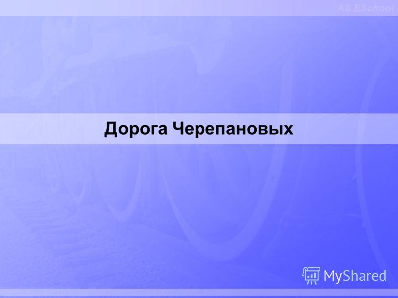 AS ESchool Дорога Черепановых