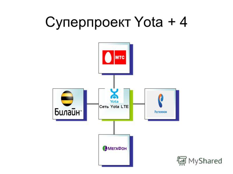 Суперпроект Yota + 4