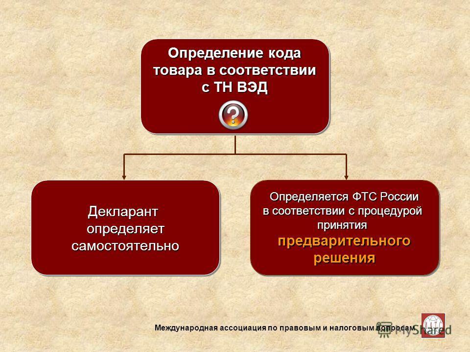 Международная ассоциация по правовым и налоговым вопросам