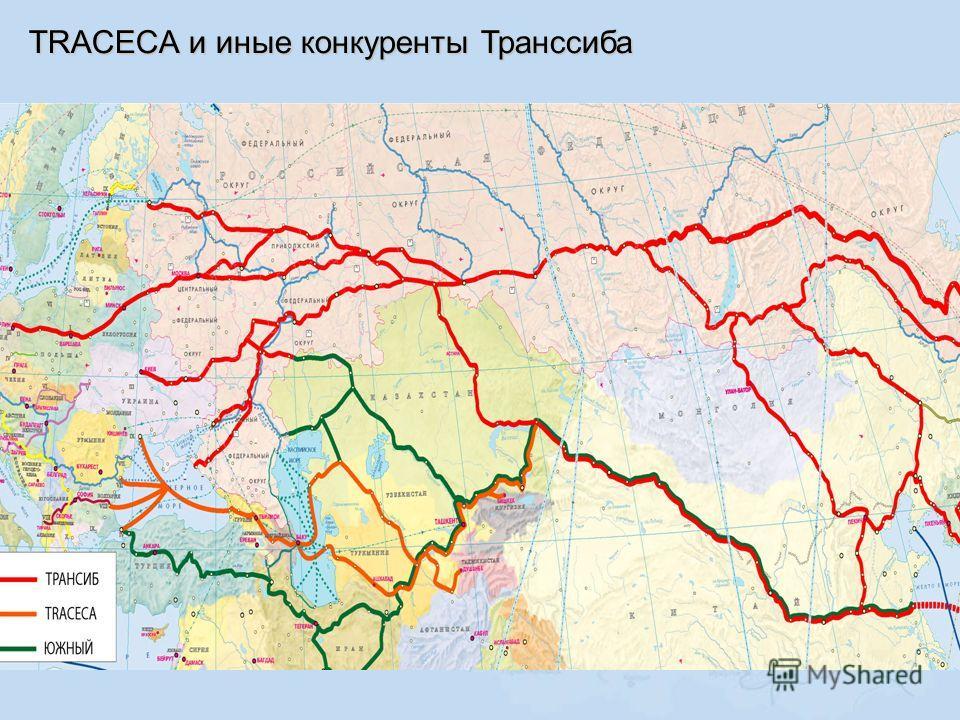 TRACECA и иные конкуренты Транссиба