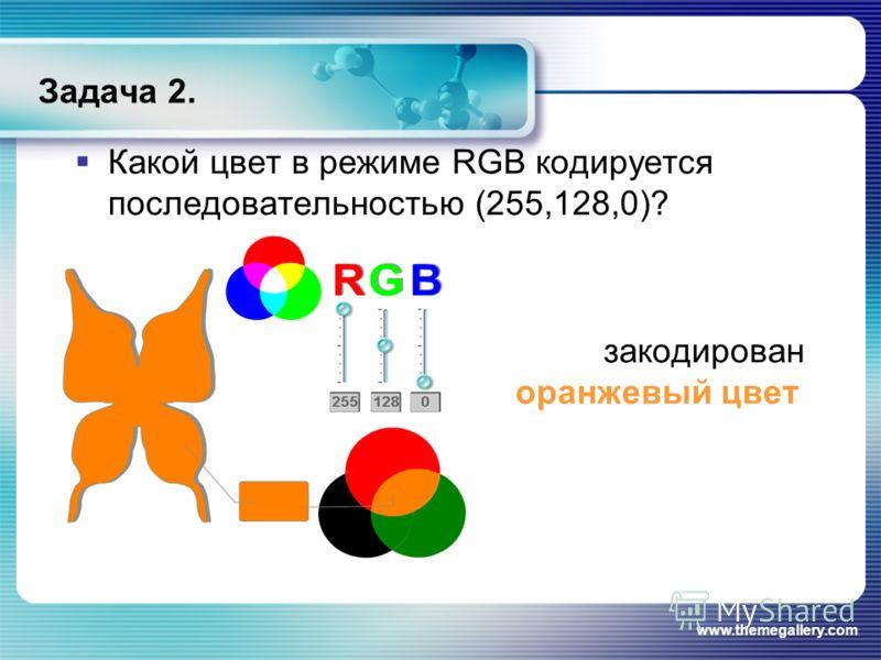 Оранжевый цвет rgb